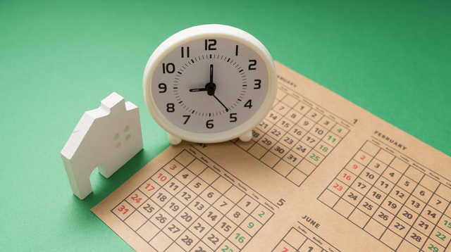戸建 売却 期間 時計